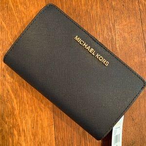 Michael Kors ladies wallet - navy